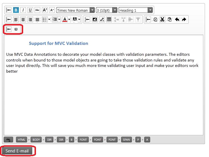 jQuery12.1 HTML Editor Custom Toolbars Buttons