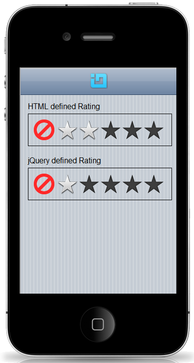 jQuery12.1 Mobile Rating