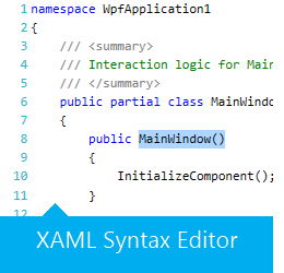 XAML Syntax Editor - How to get started