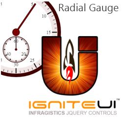 Ignite UI Radial Gauge getting started