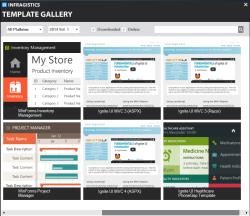 Infragistics Template Gallery header image
