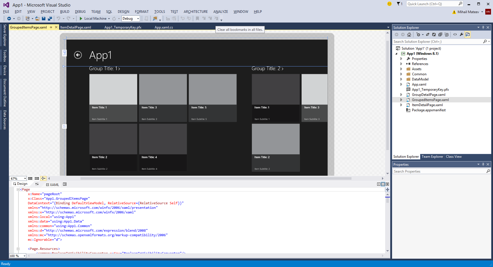Development with Visual Studio 2013 Preview and SQL Server 2014 CTP1