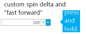 jquery editors numeric spin buttons