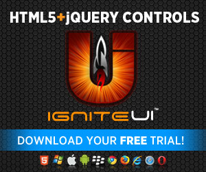 Donwload your Ignite UI Free Trial now!