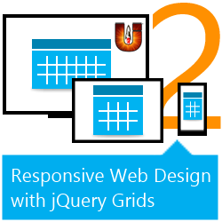 Responsive Web Design with jQuery Grids