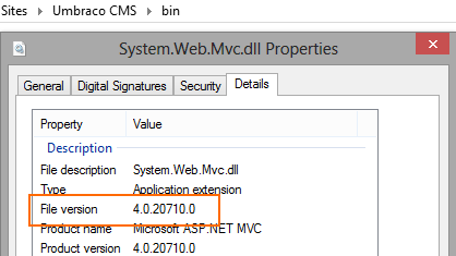 Check out which version of MVC is used from the assembly properties. Match this with Infragistics Mvc assembly version.