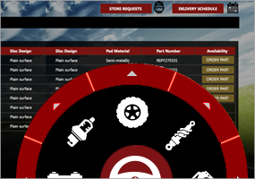 How to create interactive menu with Infragistics Radial Menu